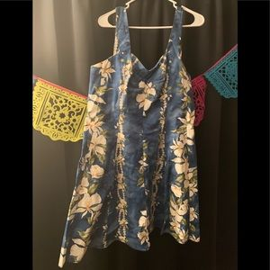 Actual vintage Hawaiian dress XL